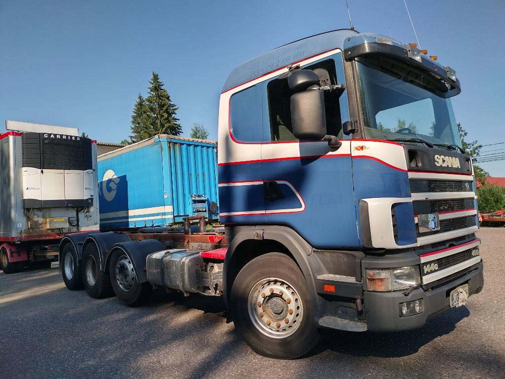 Scania R144 8x2 alusta kipillä, Kuorma-autoalustat, Kuljetuskalusto