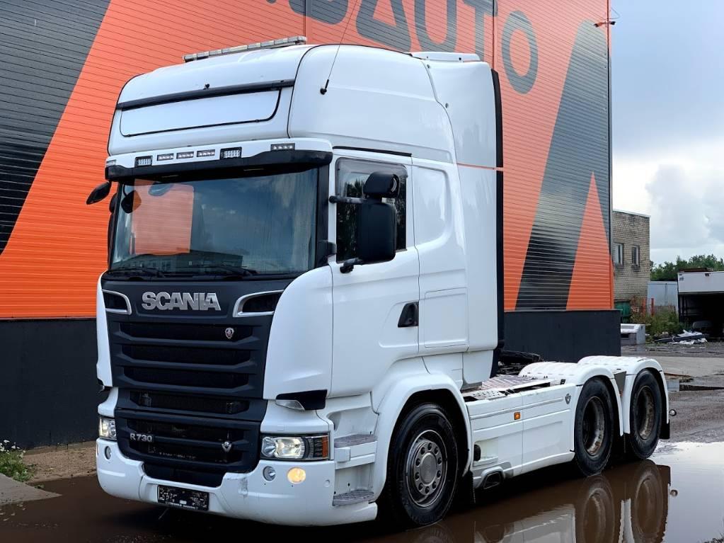 Scania R730 6x4 Retarder, Sadulveokid, Transport