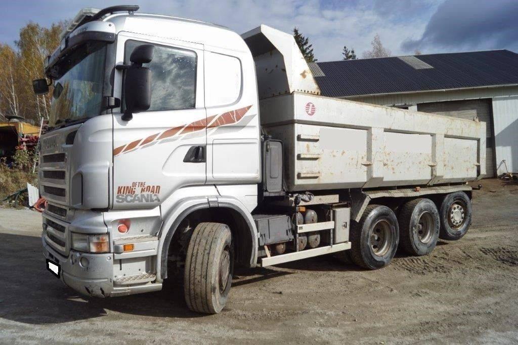 Scania R480 8X4 Manual Retarder, Kallurid, Transport