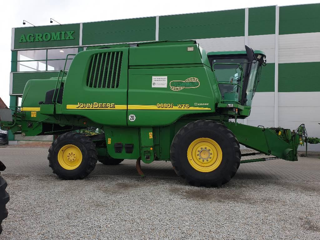 John Deere WTS 9680i, Kombajny zbożowe, Maszyny rolnicze