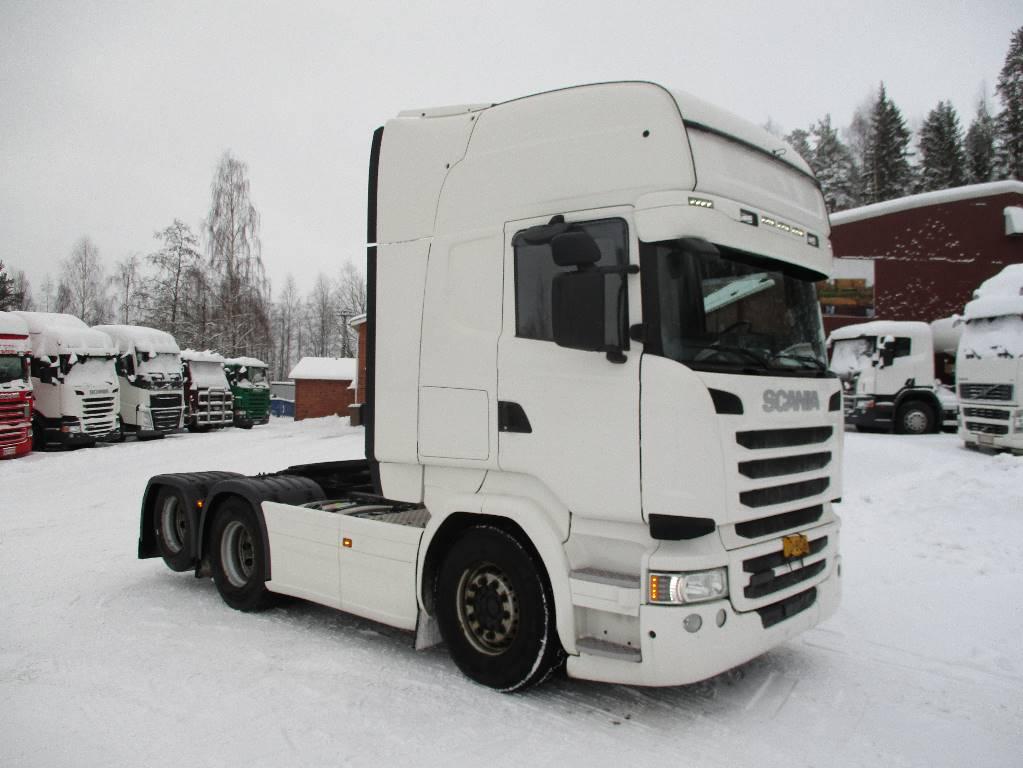 Scania R 490 LA 6X2 HNA, Vetopöytäautot, Kuljetuskalusto