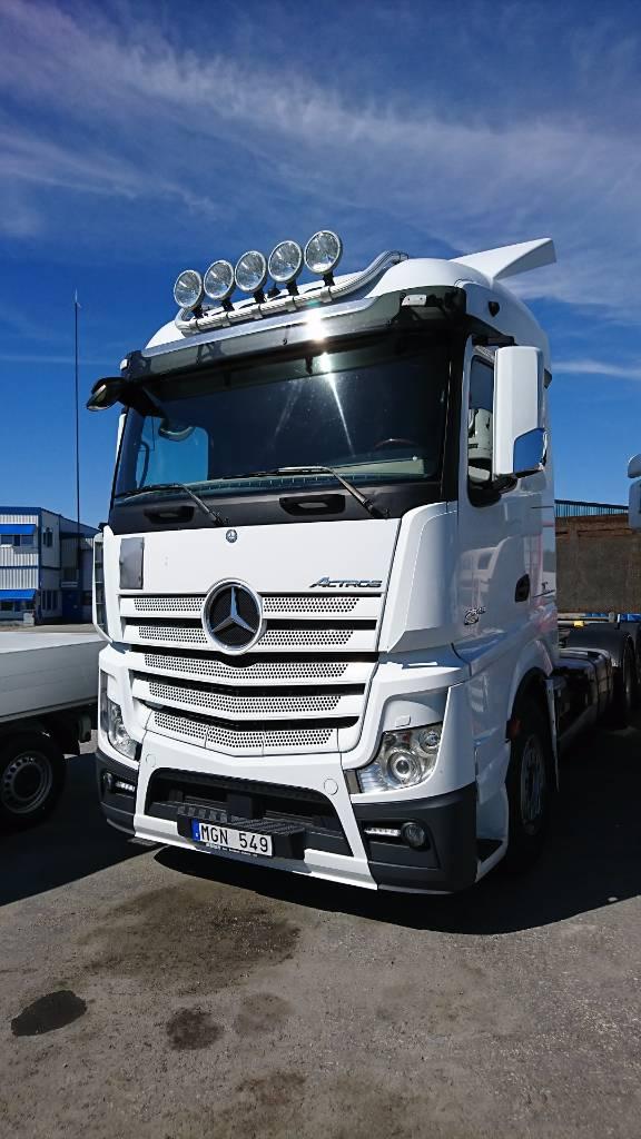 Mercedes-Benz Actros 2545 L, Växelflak-/Containerbilar, Transportfordon
