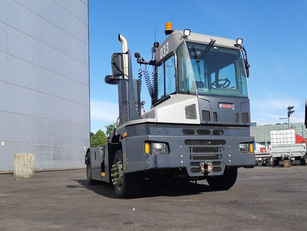 Kalmar T2, Terminaalitraktorit, Materiaalinkäsittely