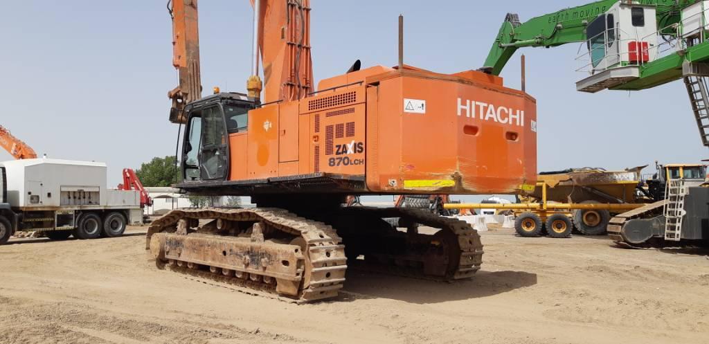 Hitachi ZX 870 LCH-5 G, Crawler excavators, Construction
