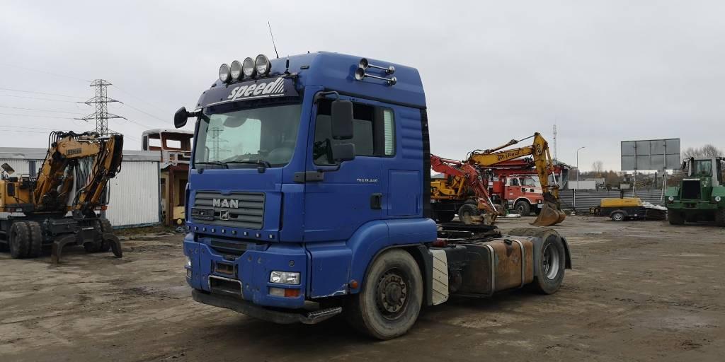 MAN TGA18.440 4x4, Ciągniki siodłowe, Transport
