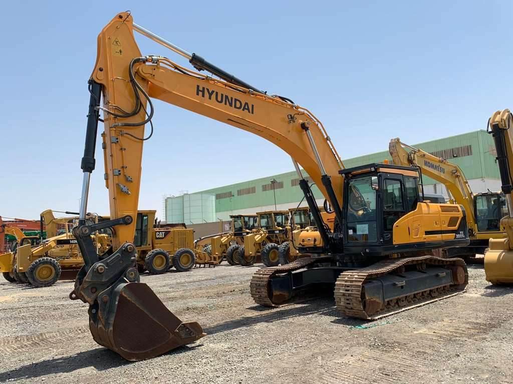Hyundai HX300SLA, Crawler Excavators, Construction