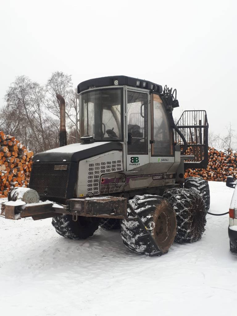 Logset 4F, Forwarders, Forestry