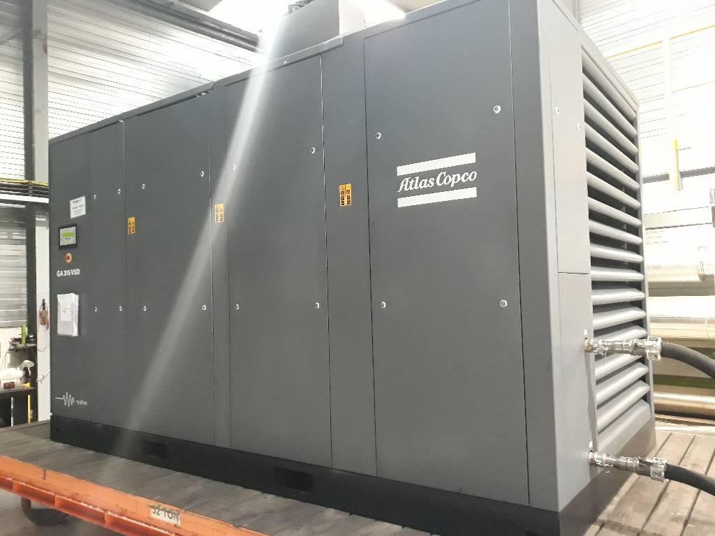 Atlas Copco GA 315 VSD, Compressors, Industrial