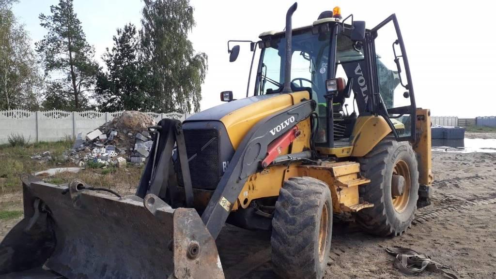 Volvo BL71, Backhoe loaders, Construction