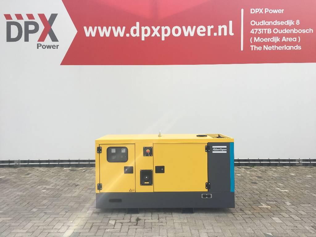 Atlas Copco QIS 16 - 16 kVA Generator - DPX-19401, Diesel generatoren, Bouw
