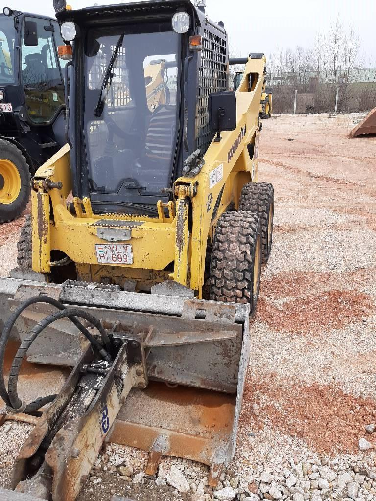 Komatsu SK820-5, Skid steer loaders, Construction