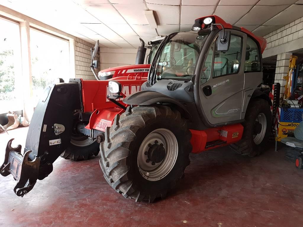 Manitou MLT 840 Elite, Verreikers voor landbouw, Landbouw
