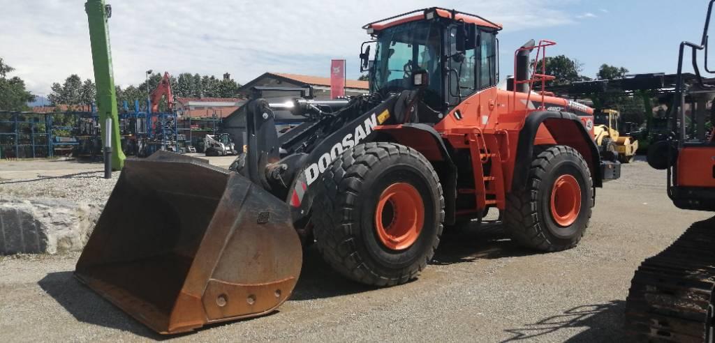 Doosan DL 420-5 CVT, Wheel Loaders, Construction Equipment