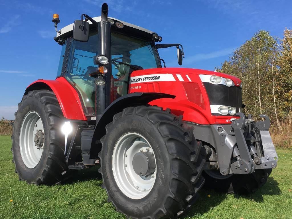 Massey Ferguson 6718S Dyna- 6 Essential, Tractoren, Landbouw