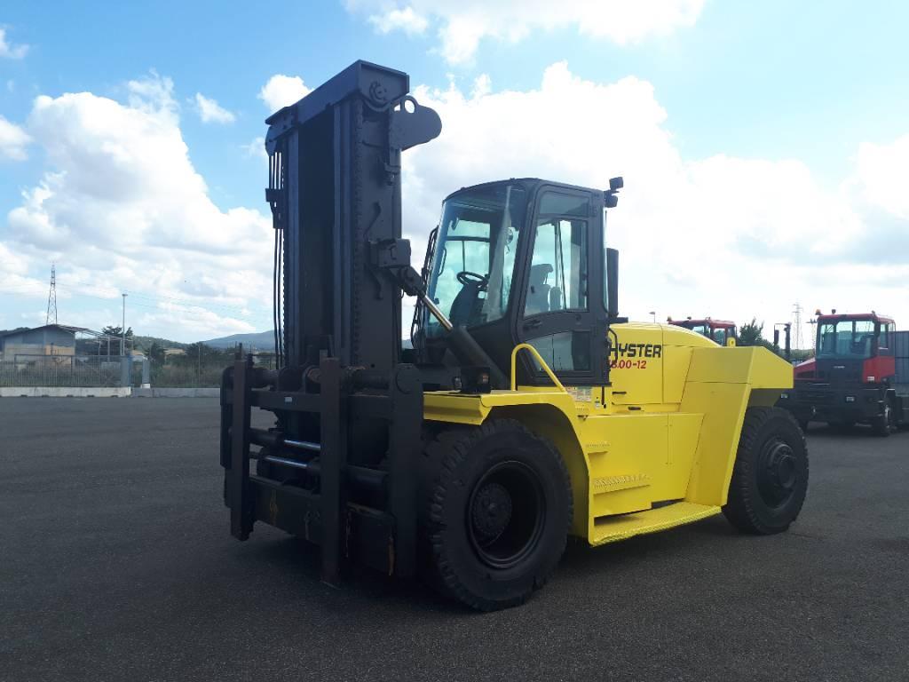 Hyster H 18.00 XM-12, Diesel trucks, Material Handling