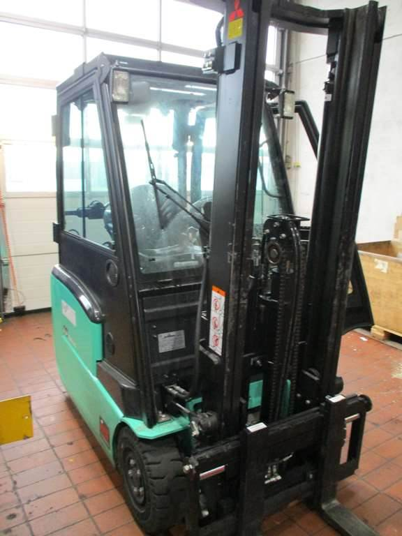 Mitsubishi FB16CPNT, Container Handlers, Material Handling