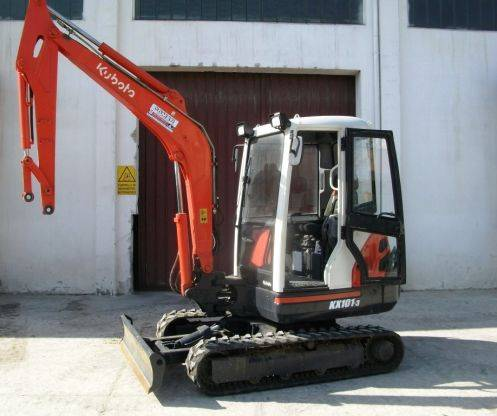 Kubota KX 101-3, Mini Excavators <7t (Mini Diggers), Construction Equipment