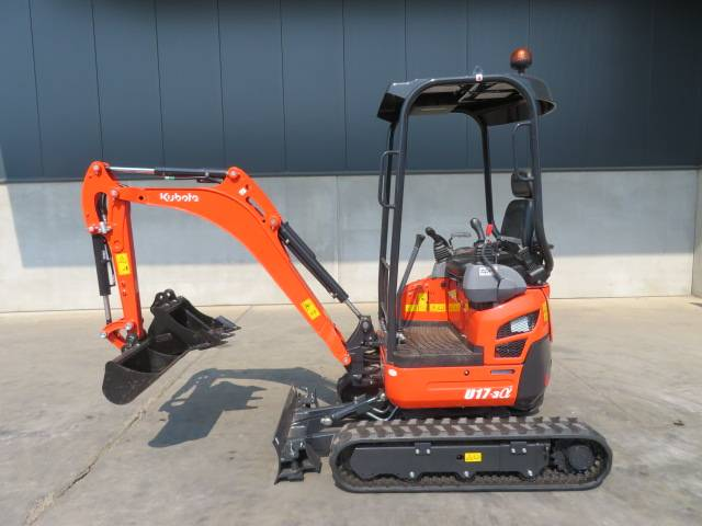 Kubota U 17-3 A (UNUSED), Minigraafmachines < 7t, Bouw