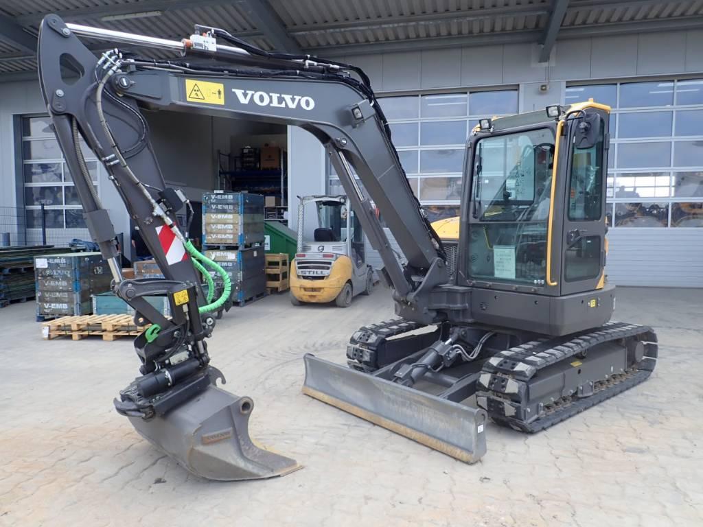 Volvo ECR 58D, Mini Excavators <7t (Mini Diggers), Construction Equipment