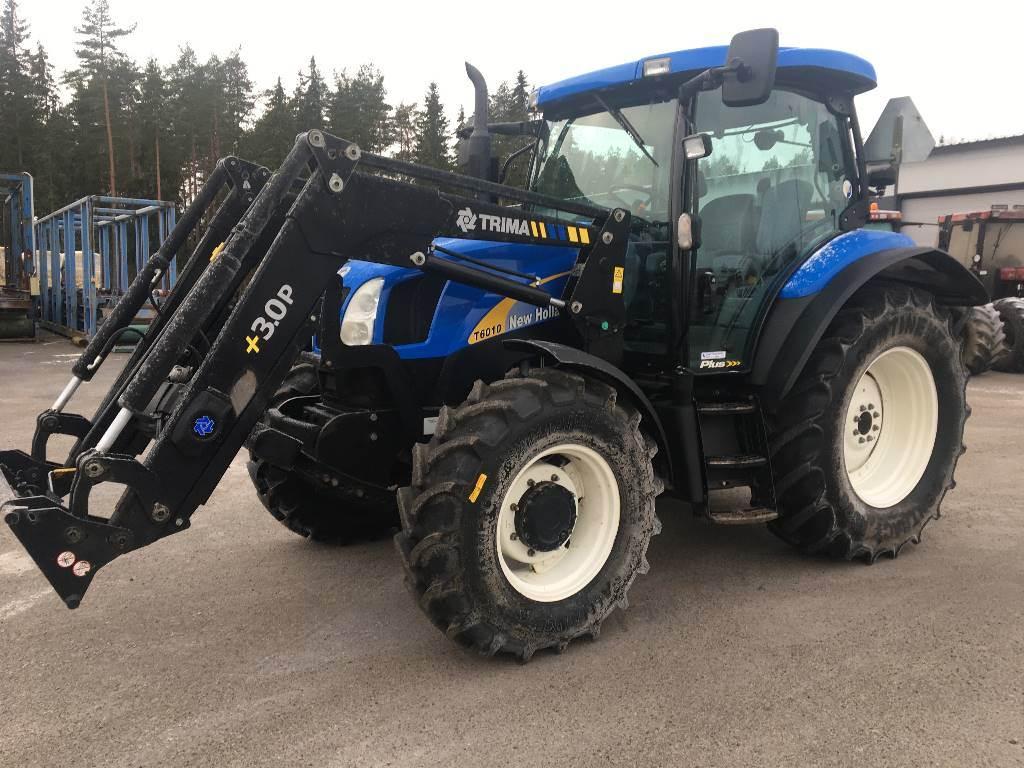 New Holland T 6010 Plus, Traktorit, Maatalous