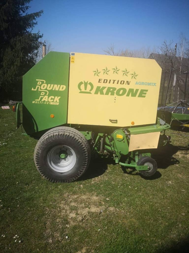 Krone Round Pack 1250 MC, Prasy zwijające, Maszyny rolnicze
