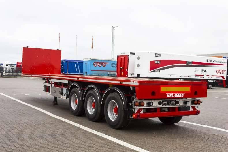 KEL-BERG S500H - kort rettsemi m uttrekk, Planhengere, Transport