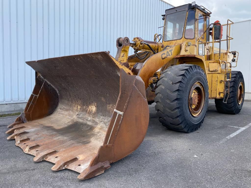 Caterpillar 966 E, Wheel loaders, Construction
