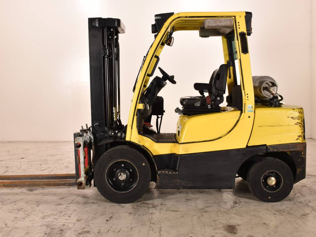 Hyster H 35 FT, LPG heftrucks, Laden en lossen