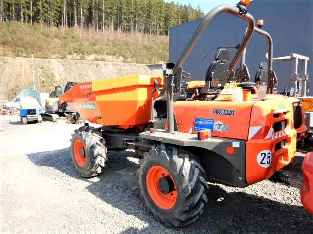 Ausa D 600 AP G, Site Dumpers, Construction Equipment