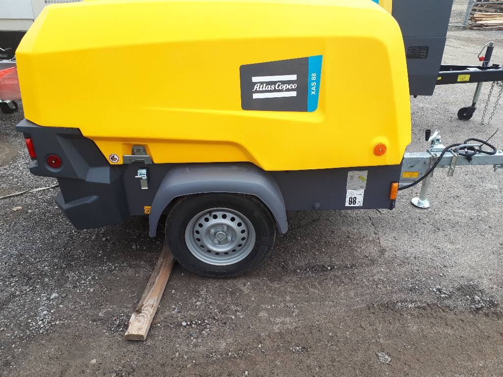 Atlas Copco XAS 88, Compressors, Construction