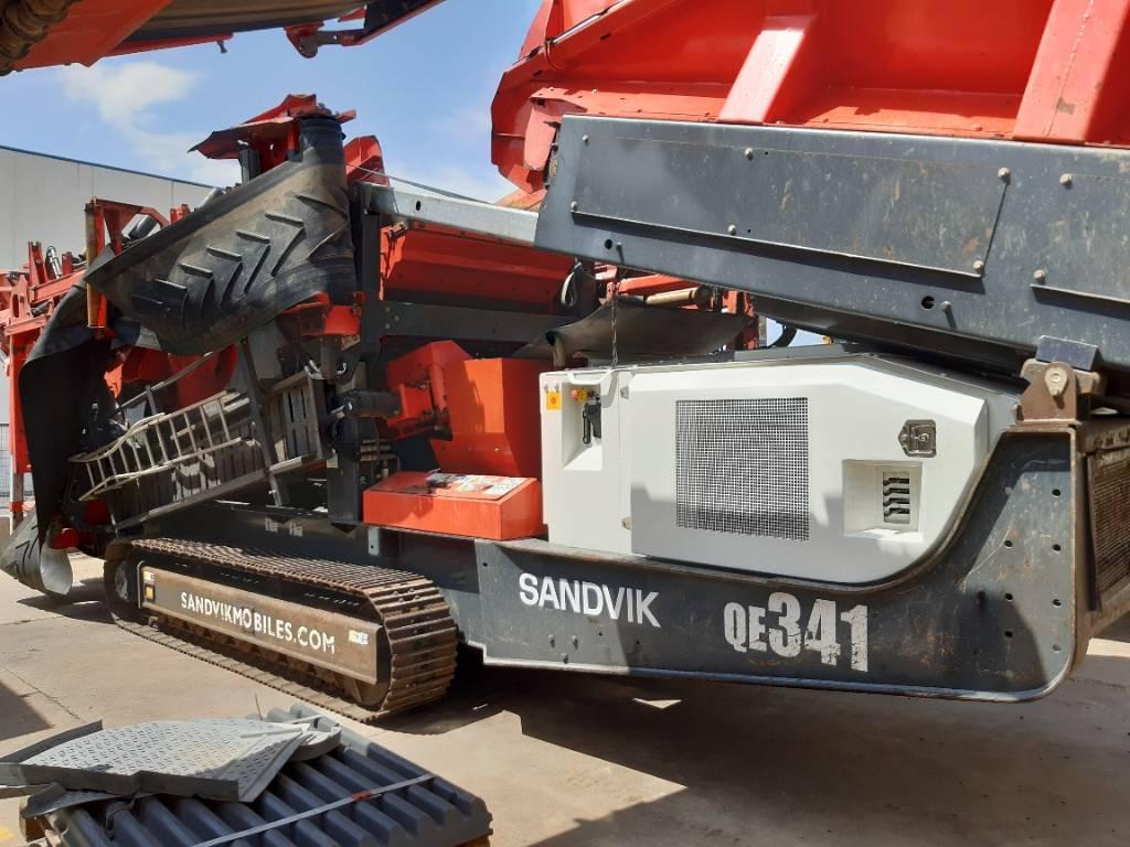 Sandvik QE341, Cribas, Construcción