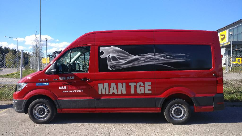 MAN TGE 3.180 2,0 TDI 130 kW 3640 4x4, Pakettiautot, Kuljetuskalusto