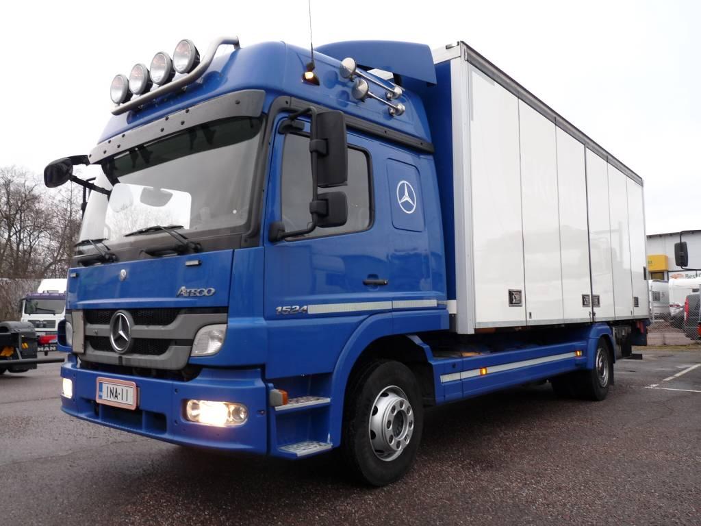 Mercedes-Benz Atego 1524 4x2 KSA-kori + PL, Umpikorikuorma-autot, Kuljetuskalusto