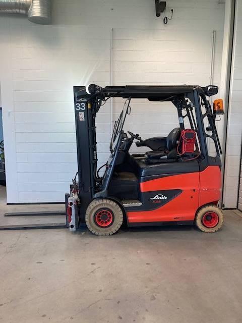 Linde E25/600RH/387, Electric forklift trucks, Material Handling