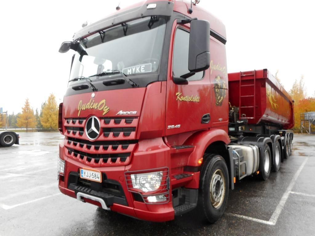 Mercedes-Benz MB Arocs 2645 6x4, Vetopöytäautot, Kuljetuskalusto