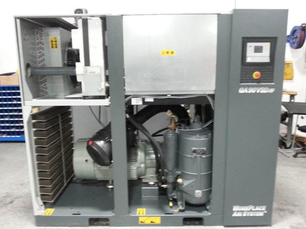 Atlas Copco GA 90VSDFF, Compressors, Industrial