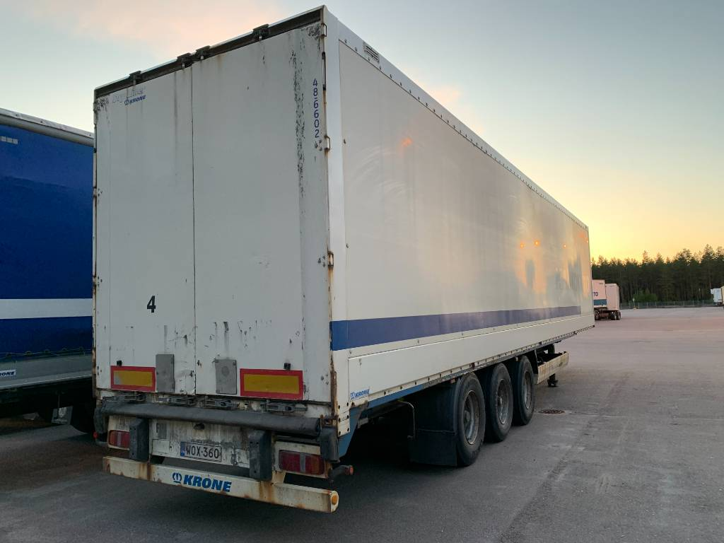 Krone umpikori 13,6m putki, korkeus 4m, Box body semi-trailers, Transportation