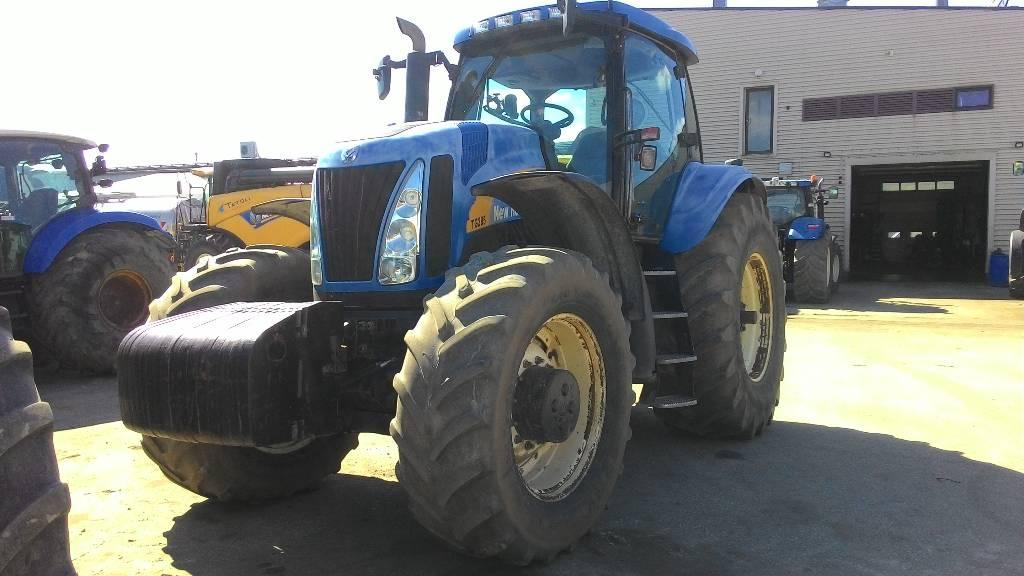 New Holland TG 285, Traktorid, Põllumajandus