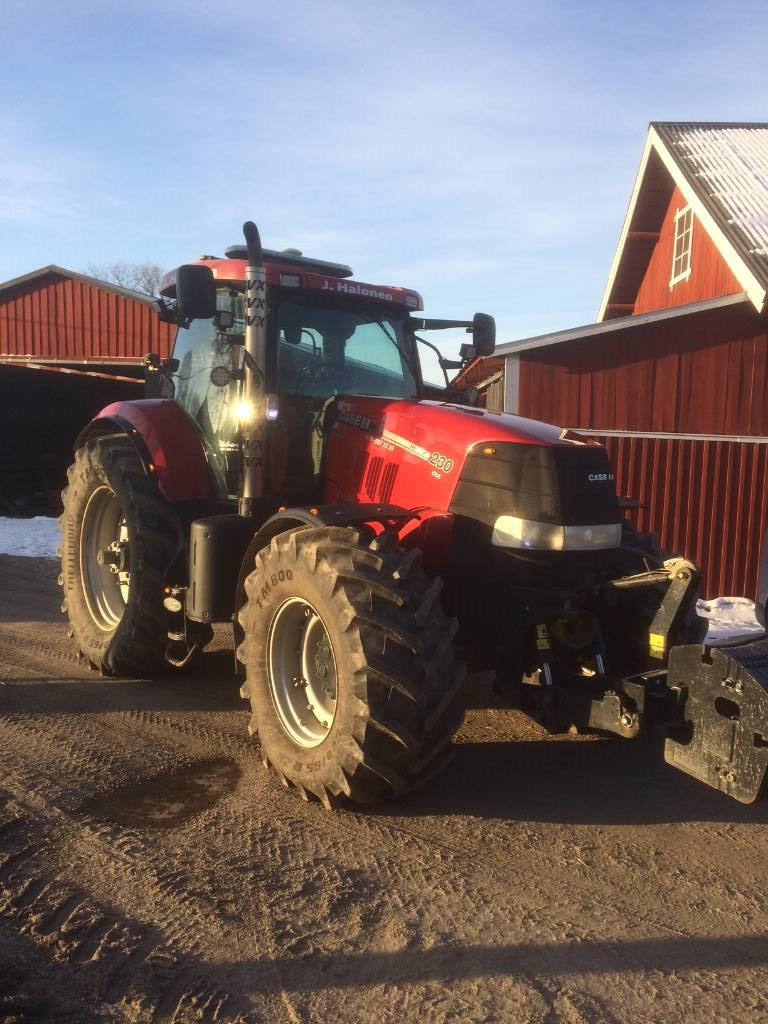 Case IH Puma 230 CVX, FLP, Autostyrning -13, Traktorer, Lantbruk
