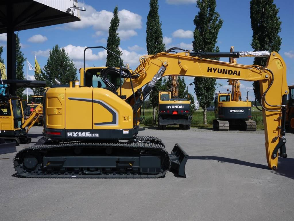 Hyundai HX 145 LCR, Telakaivukoneet, Maarakennus