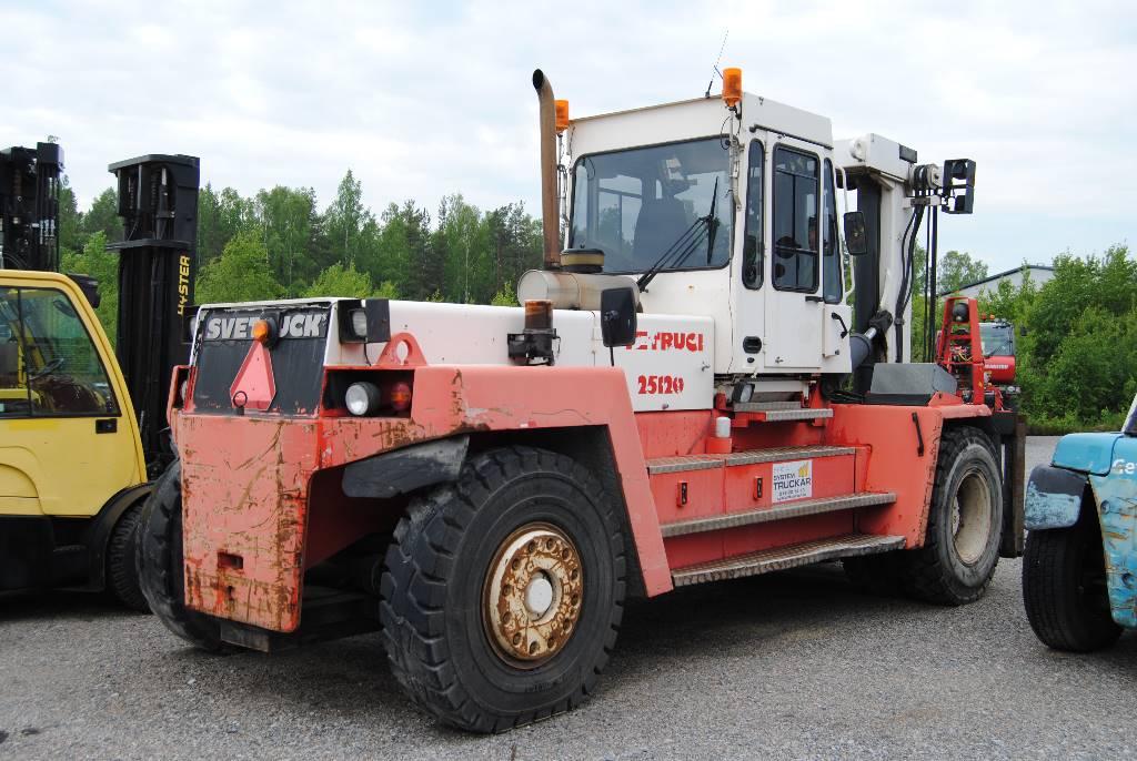 Svetruck 25-120 45, Dieselmotviktstruckar, Materialhantering