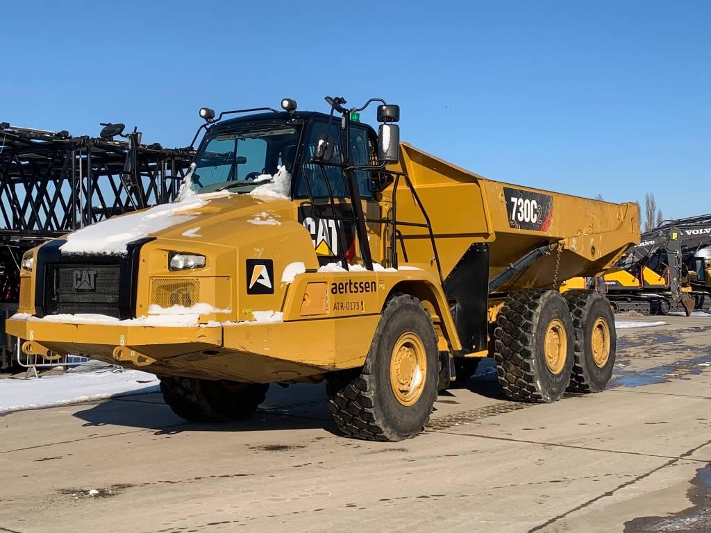 Caterpillar 730 C2, Articulated Dump Trucks (ADTs), Construction