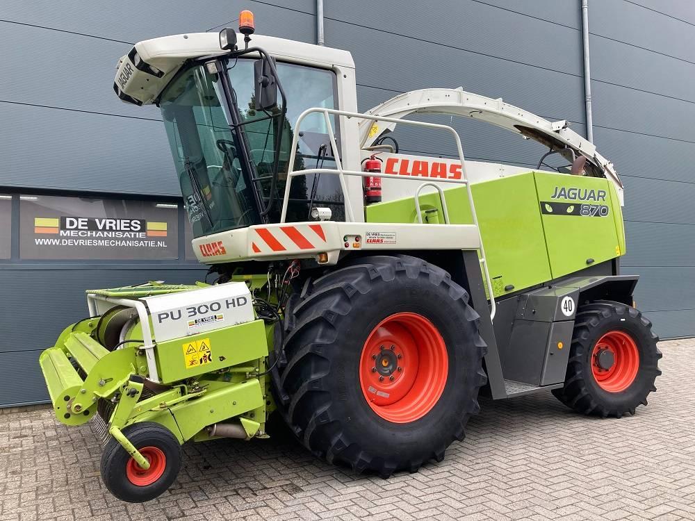 CLAAS Jaguar 870 Speedstar, Forage harvesters, Agriculture