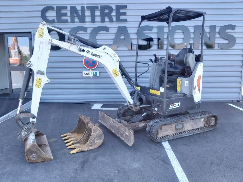 Bobcat E 20, Mini digger, Construction Equipment
