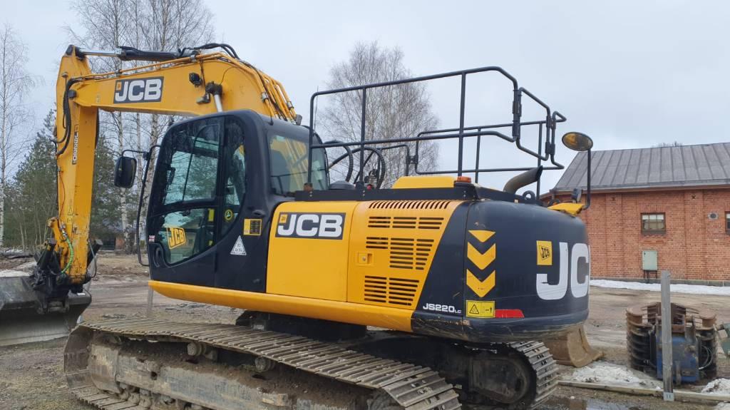 JCB JS 220 LC, Telakaivukoneet, Maarakennus