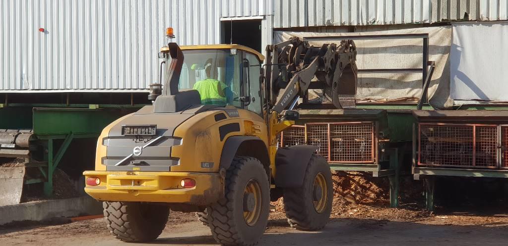 Volvo L 45 G, Cargadoras sobre ruedas, Construcción