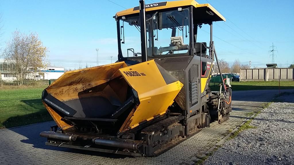Volvo P6820D, Asphalt pavers, Construction Equipment