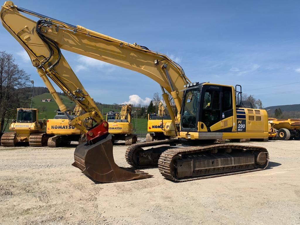 Komatsu PC290NLC-10, Crawler Excavators, Construction Equipment