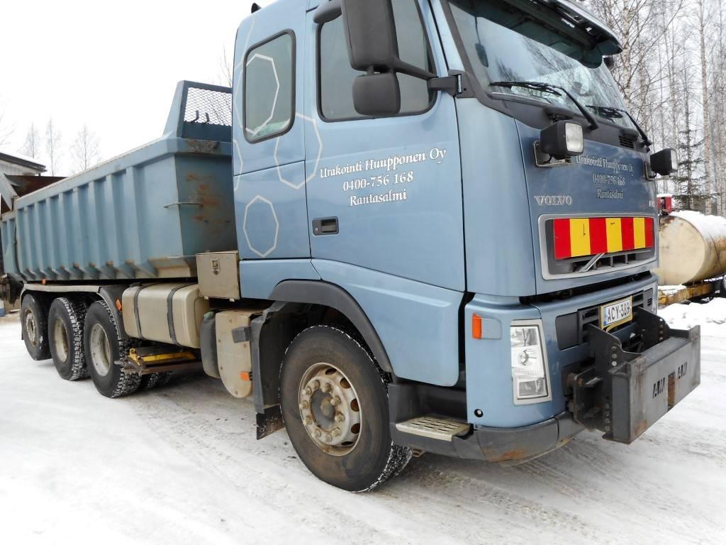 Volvo FH 13, Sora- ja kippiautot, Kuljetuskalusto