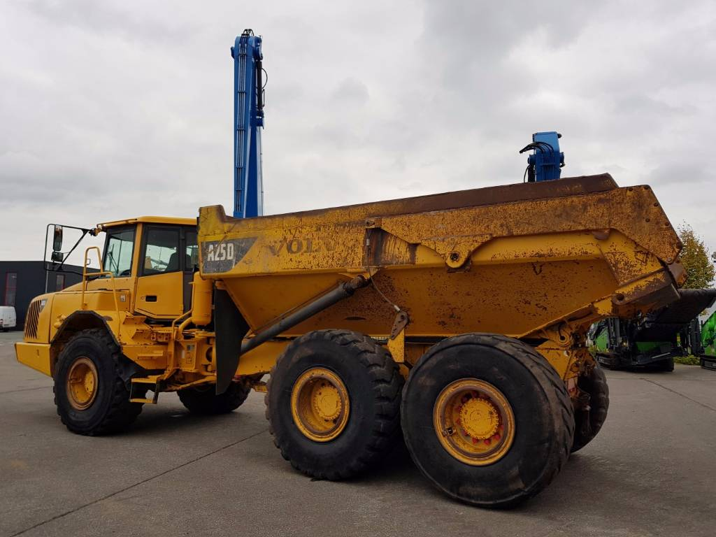 Volvo A25D, Articulated Dump Trucks (ADTs), Construction Equipment